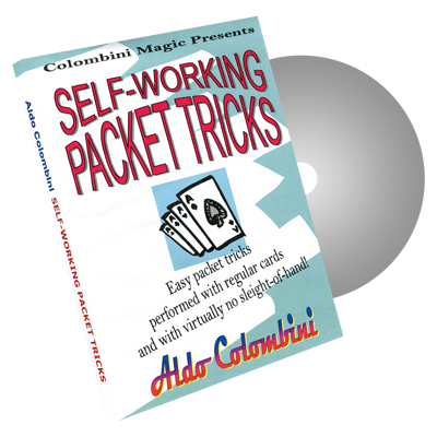 Self-Working Packet Tricks by Wild-Colombini Magic - DVD
