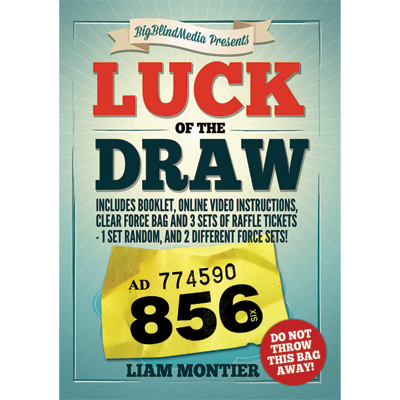 Luck of the Draw (Gimmick and Online Instructions) by Liam