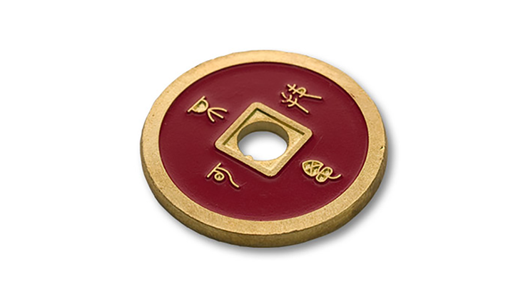 Dollar Größe silbern Kupfer Chinese Umsetzung von Tango Zauberei CH023