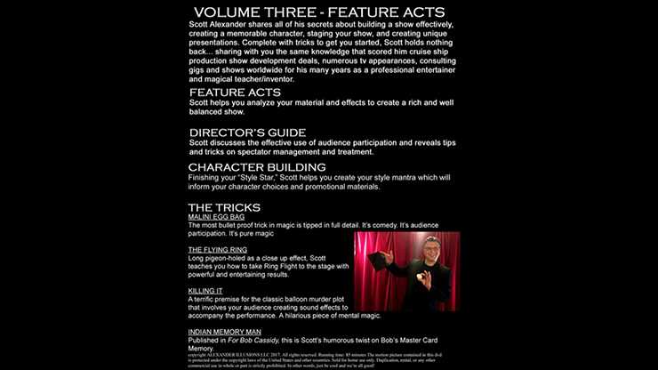Standing Up on Stage Volume 3 Feature Acts by Scott