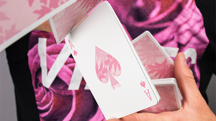 Sakura Playing Cards by Francis and Dominic Garcia