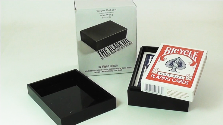 The Black Box Gimmick And Online Instructions By Wayne Dobson And Alan Wong