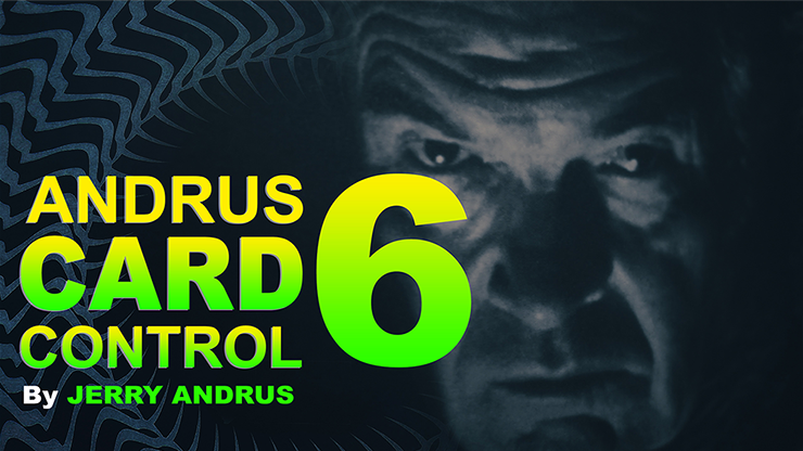 Andrus Card Control 6 by Jerry Andrus Taught by John Redmon DRM Protected  Video Download