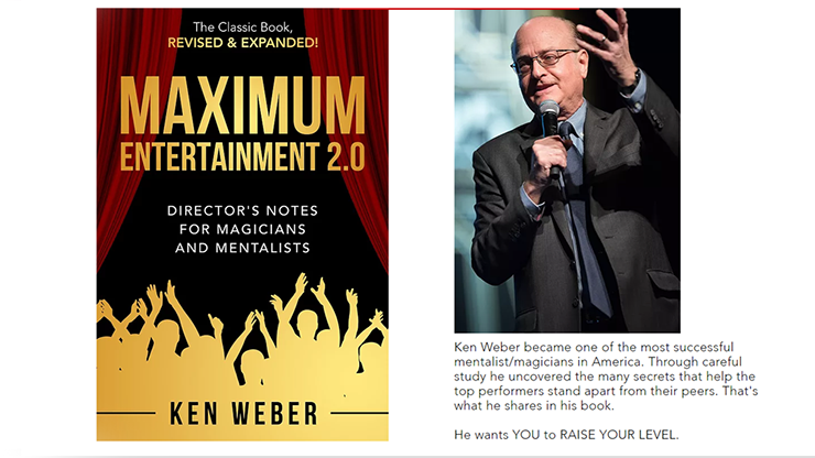 Book Maximum Entertainment 2.0 Expanded /& Revised by Ken Weber
