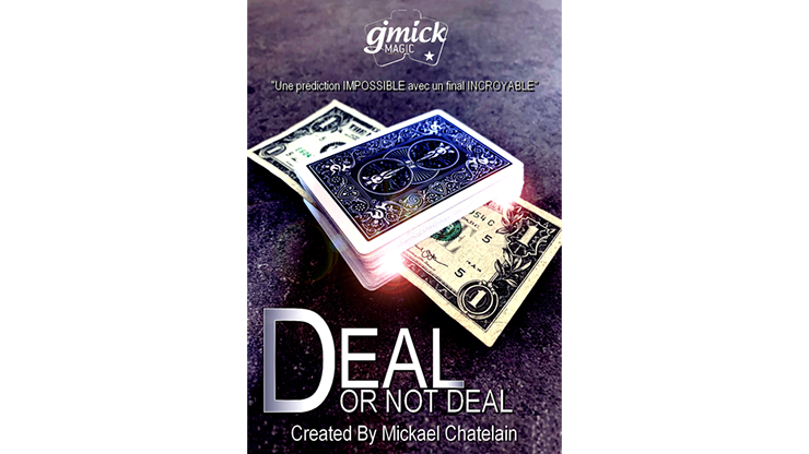 Image result for deal or not deal the secret created by mickael chatelain