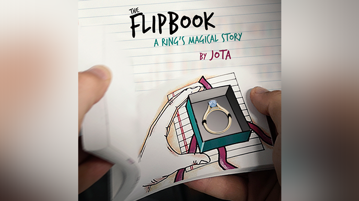 FLIP BOOK (Gimmick and Online Instructions) by JOTA