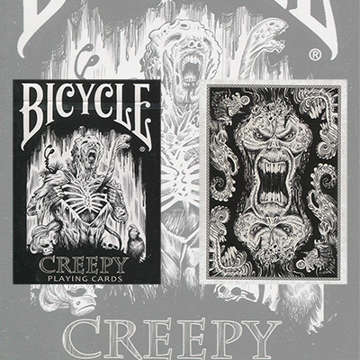 Carte Bicycle Creepy by Collectable Playing Cards