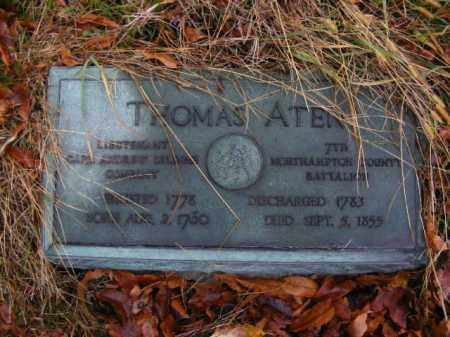 ATEN (RW), THOMAS - Allegheny County, Pennsylvania   THOMAS ATEN (RW) - Pennsylvania Gravestone Photos