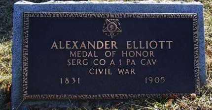 ELLIOTT (CW CMOH), ALEXANDER C. - Allegheny County, Pennsylvania | ALEXANDER C. ELLIOTT (CW CMOH) - Pennsylvania Gravestone Photos