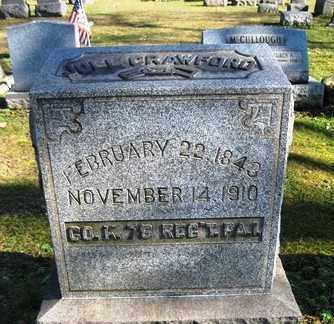 CRAWFORD (CW), JOEL - Armstrong County, Pennsylvania   JOEL CRAWFORD (CW) - Pennsylvania Gravestone Photos