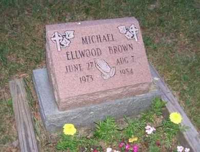 BROWN, MICHAEL ELLWOOD - Beaver County, Pennsylvania   MICHAEL ELLWOOD BROWN - Pennsylvania Gravestone Photos