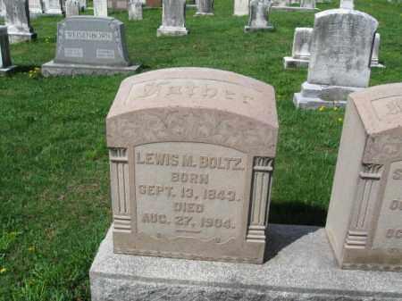 BOLTZ, LEWIS M. - Berks County, Pennsylvania   LEWIS M. BOLTZ - Pennsylvania Gravestone Photos