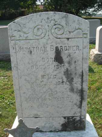 BORDNER, JONATHAN - Berks County, Pennsylvania | JONATHAN BORDNER - Pennsylvania Gravestone Photos