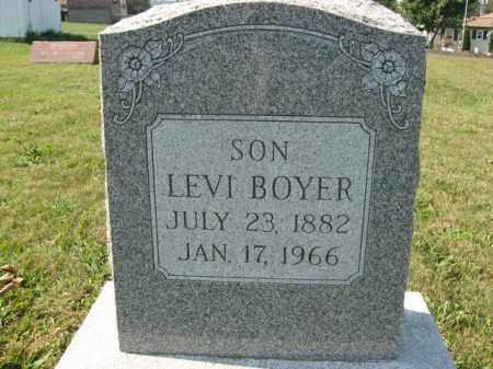 BOYER, LEVI - Berks County, Pennsylvania | LEVI BOYER - Pennsylvania Gravestone Photos