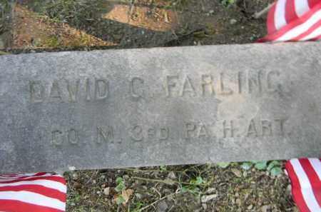 FARLING (CW), DAVID G. - Berks County, Pennsylvania | DAVID G. FARLING (CW) - Pennsylvania Gravestone Photos