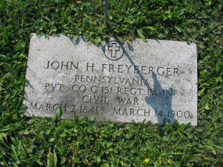 FREYBERGER, JOHN H. - Berks County, Pennsylvania | JOHN H. FREYBERGER - Pennsylvania Gravestone Photos