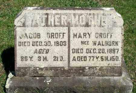 GROFF, JACOB - Berks County, Pennsylvania | JACOB GROFF - Pennsylvania Gravestone Photos