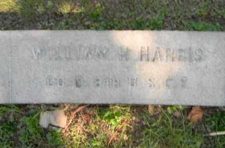 HARRIS (CW), WILLIAM H. - Berks County, Pennsylvania | WILLIAM H. HARRIS (CW) - Pennsylvania Gravestone Photos