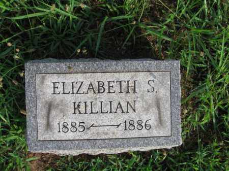 KILLIAN, ELIZABETH S. - Berks County, Pennsylvania | ELIZABETH S. KILLIAN - Pennsylvania Gravestone Photos