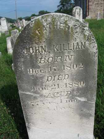 KILLIAN, JOHN - Berks County, Pennsylvania | JOHN KILLIAN - Pennsylvania Gravestone Photos