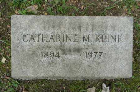 KLINE, CATHERINE M. - Berks County, Pennsylvania   CATHERINE M. KLINE - Pennsylvania Gravestone Photos