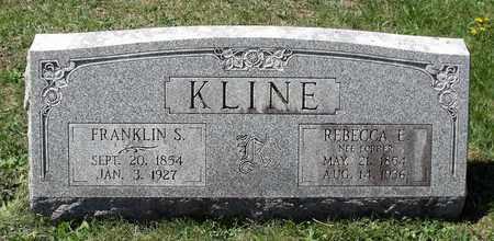 KLINE, FRANKLIN S. - Berks County, Pennsylvania | FRANKLIN S. KLINE - Pennsylvania Gravestone Photos