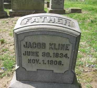 KLINE, JACOB - Berks County, Pennsylvania | JACOB KLINE - Pennsylvania Gravestone Photos