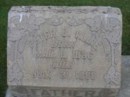 KLINE, PETER B. - Berks County, Pennsylvania | PETER B. KLINE - Pennsylvania Gravestone Photos