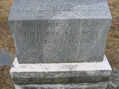LEIBENSPERGER  (CW), WILLIAM A. - Berks County, Pennsylvania | WILLIAM A. LEIBENSPERGER  (CW) - Pennsylvania Gravestone Photos