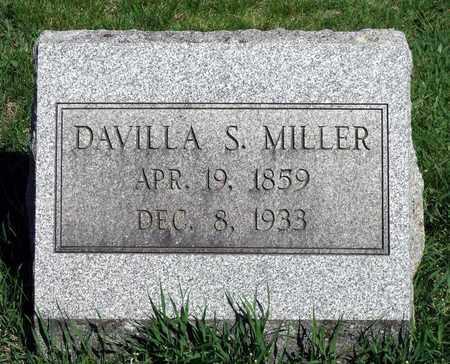 MILLER, DAVILLA S. - Berks County, Pennsylvania   DAVILLA S. MILLER - Pennsylvania Gravestone Photos