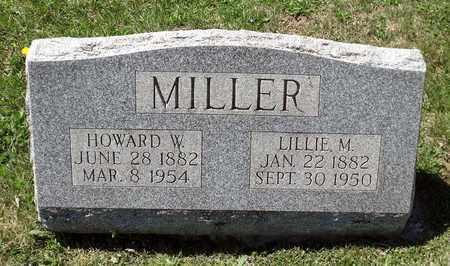 MILLER, HOWARD W. - Berks County, Pennsylvania | HOWARD W. MILLER - Pennsylvania Gravestone Photos