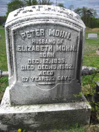 MOHN, PETER - Berks County, Pennsylvania | PETER MOHN - Pennsylvania Gravestone Photos