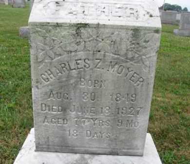 MOYER, CHARLES Z. - Berks County, Pennsylvania | CHARLES Z. MOYER - Pennsylvania Gravestone Photos