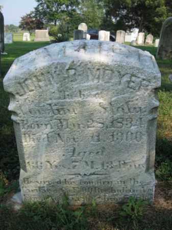 MOYER, JOHN - Berks County, Pennsylvania   JOHN MOYER - Pennsylvania Gravestone Photos