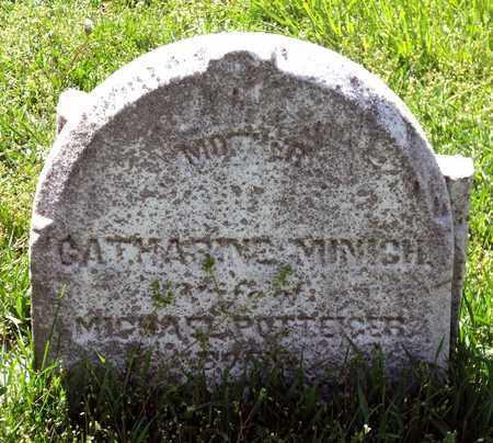 MINICH POTTEIGER, CATHARINE - Berks County, Pennsylvania | CATHARINE MINICH POTTEIGER - Pennsylvania Gravestone Photos
