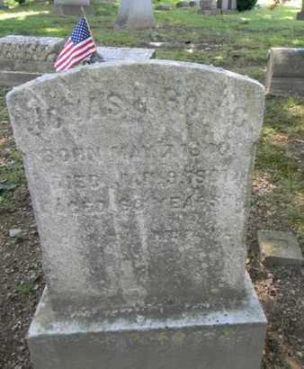 ROMIG (CW ), JONAS - Berks County, Pennsylvania | JONAS ROMIG (CW ) - Pennsylvania Gravestone Photos