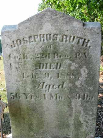 RUTH, JOSEPHUS - Berks County, Pennsylvania   JOSEPHUS RUTH - Pennsylvania Gravestone Photos