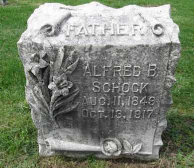 SCHOCK, ALFRED B. - Berks County, Pennsylvania | ALFRED B. SCHOCK - Pennsylvania Gravestone Photos