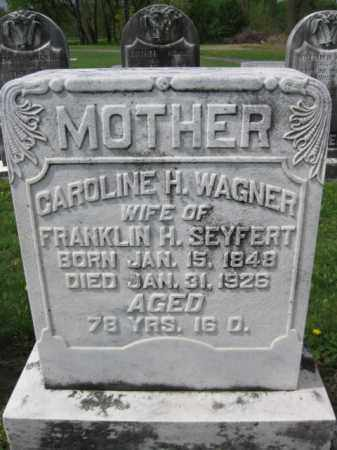 SEYFERT, CAROLINE H. - Berks County, Pennsylvania | CAROLINE H. SEYFERT - Pennsylvania Gravestone Photos