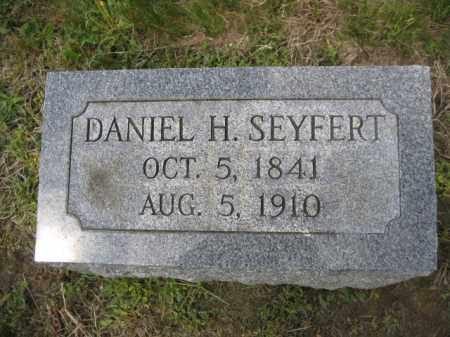 SEYFERT, DANIEL H. - Berks County, Pennsylvania | DANIEL H. SEYFERT - Pennsylvania Gravestone Photos
