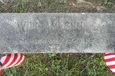 SHUNK (CW), WILLIAM - Berks County, Pennsylvania | WILLIAM SHUNK (CW) - Pennsylvania Gravestone Photos