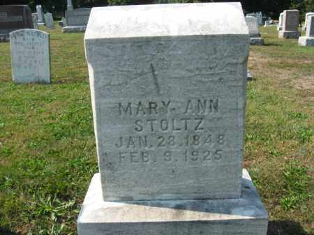 STOLTZ, MARY ANN - Berks County, Pennsylvania | MARY ANN STOLTZ - Pennsylvania Gravestone Photos