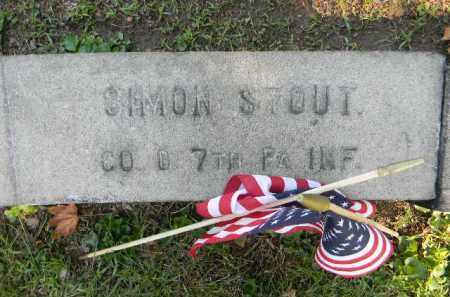 STOUT (CW), SIMON - Berks County, Pennsylvania | SIMON STOUT (CW) - Pennsylvania Gravestone Photos