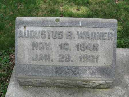 WAGNER, AUGUSTUS B. - Berks County, Pennsylvania   AUGUSTUS B. WAGNER - Pennsylvania Gravestone Photos