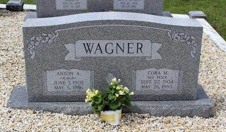 WAGNER, CORA M. - Berks County, Pennsylvania   CORA M. WAGNER - Pennsylvania Gravestone Photos