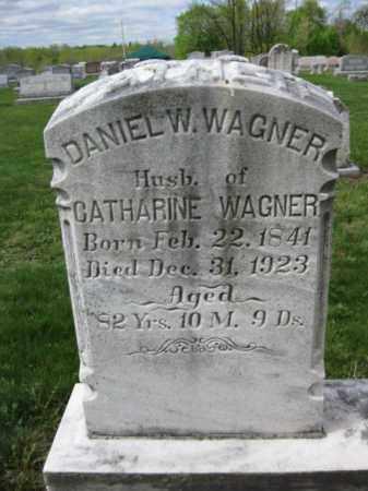 WAGNER, DANIEL W. - Berks County, Pennsylvania   DANIEL W. WAGNER - Pennsylvania Gravestone Photos