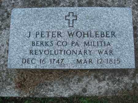 WHHLEBER, J. PETER - Berks County, Pennsylvania | J. PETER WHHLEBER - Pennsylvania Gravestone Photos
