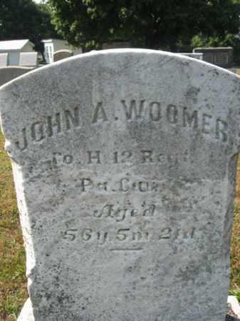 WOOMER, JOHN A. - Berks County, Pennsylvania   JOHN A. WOOMER - Pennsylvania Gravestone Photos