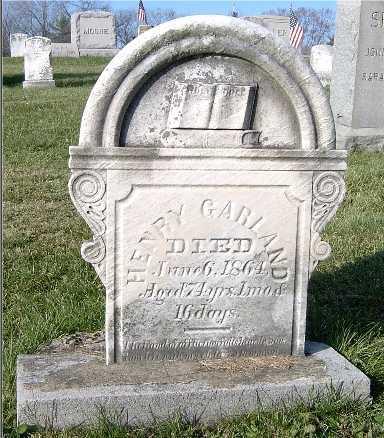 GARLAND, HENRY - Blair County, Pennsylvania | HENRY GARLAND - Pennsylvania Gravestone Photos
