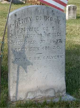 KOON (CW), HENRY - Blair County, Pennsylvania | HENRY KOON (CW) - Pennsylvania Gravestone Photos